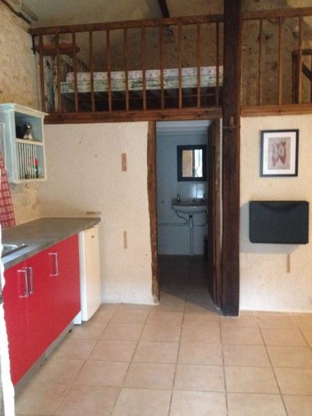 studio en pierre rénové dans ancien corps de ferme avec piscine chauffée, tennis et musltisport + spa - Sainte Colomb...