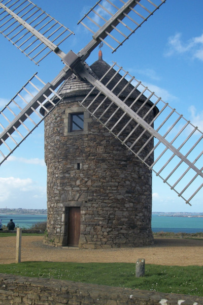 le moulin de Craca à Plouézec