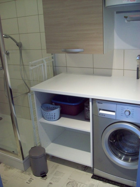 Grande salle d'eau et lave linge