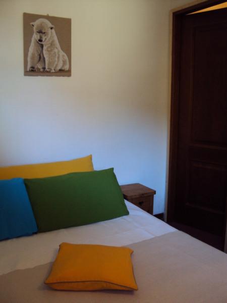 la chambre avec lit double,