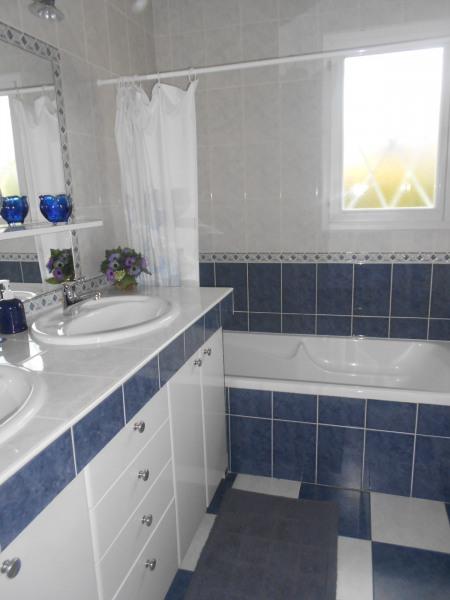 salle de bain - dche baignoire 2 vasques