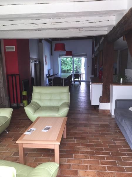 La grande pièce à vivre, côté salon