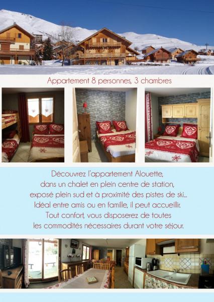 Alquileres de vacaciones Fontcouverte-la-Toussuire - Apartamento - 8 personas - Silla de cubierta - Foto N° 1