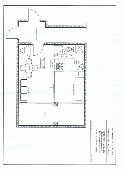 Appartement  T2   -  4 personnes maxi