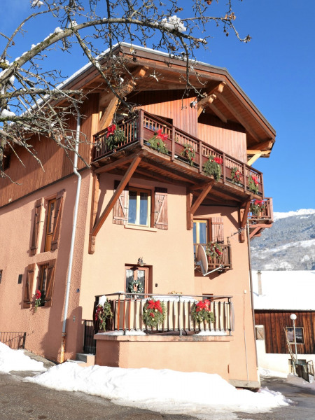 Maison Bachal en hiver