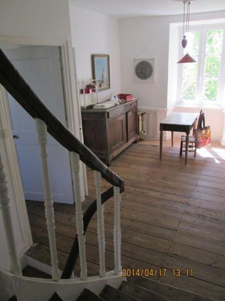 le palier au premier étage