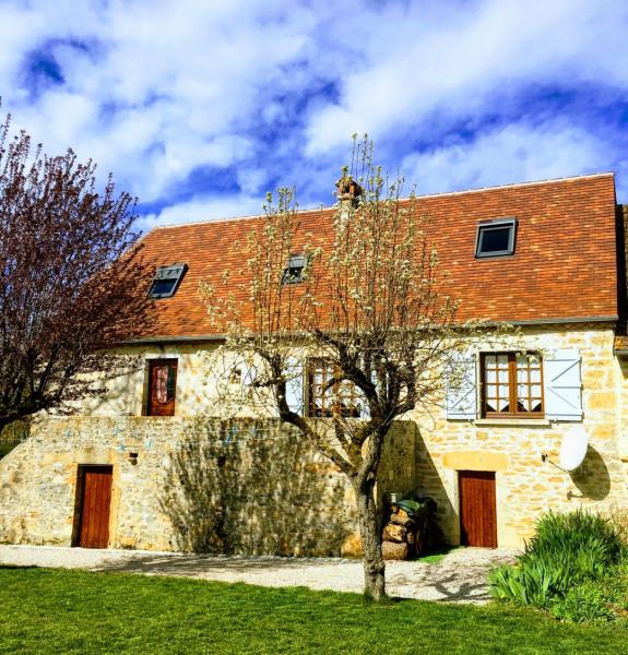 Maison de village  pour 7 personne(s),maison quercynoise typique