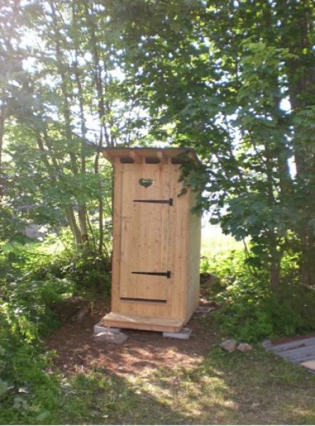 Toilettes séches