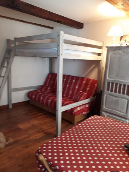 mezzanine 2 places + canapé lit