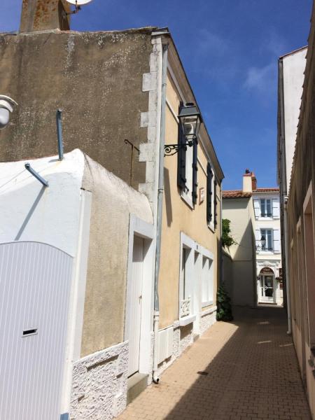 La maison dans la ruelle typique
