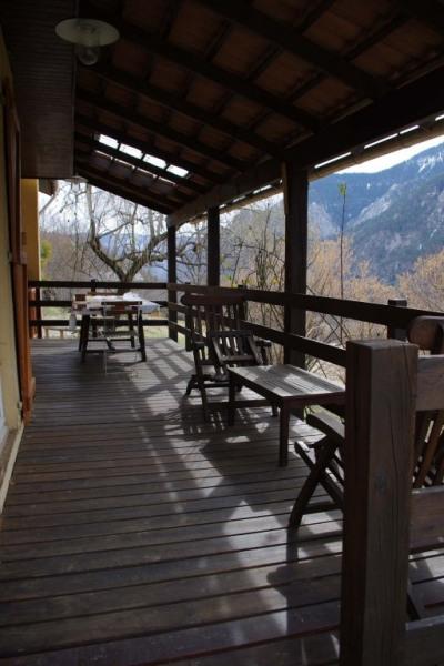 Terrasse couverte Loggia