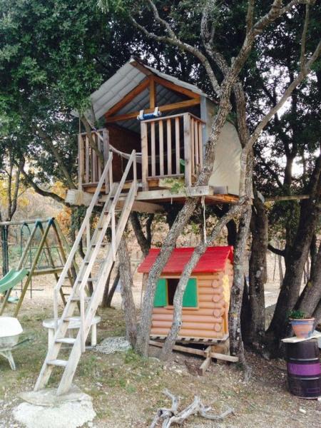 Cabane pour les petits
