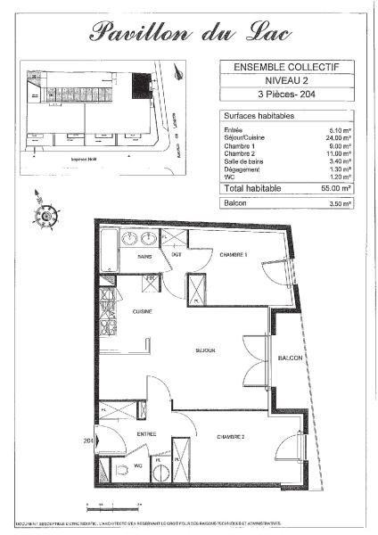 Appartement 3 pièce (s) - Bordeaux (33300)-3