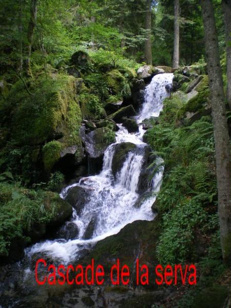 balade à la cascade de la Serva