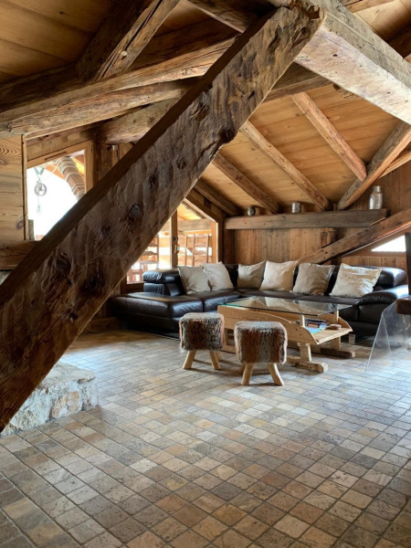 Location vacances Champagny-en-Vanoise -  Appartement - 9 personnes - Salon de jardin - Photo N° 1