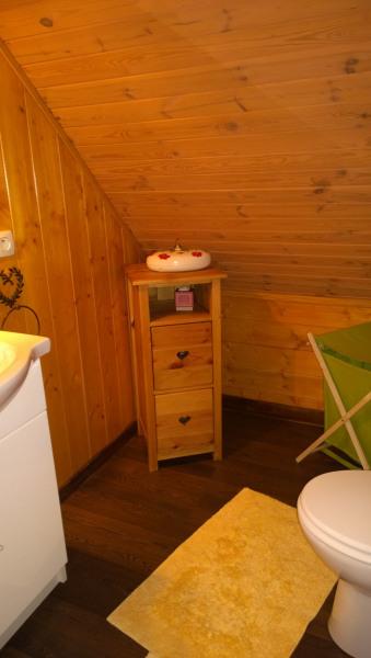 Salle d'eau +  WC  à l'étage