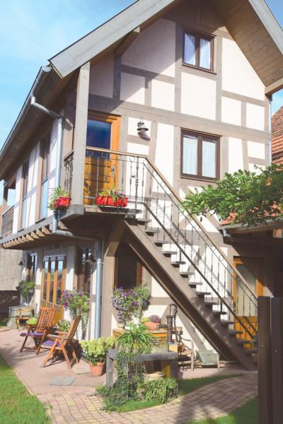 GITE ****  Le Vieux Rabot, au cœur de l'Alsace  , pour 4 personnes