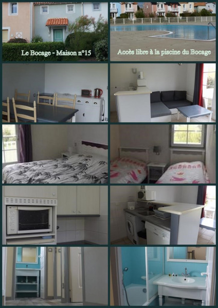 Holiday rentals Talmont-Saint-Hilaire - House - 5 persons - Garden - Photo N° 1