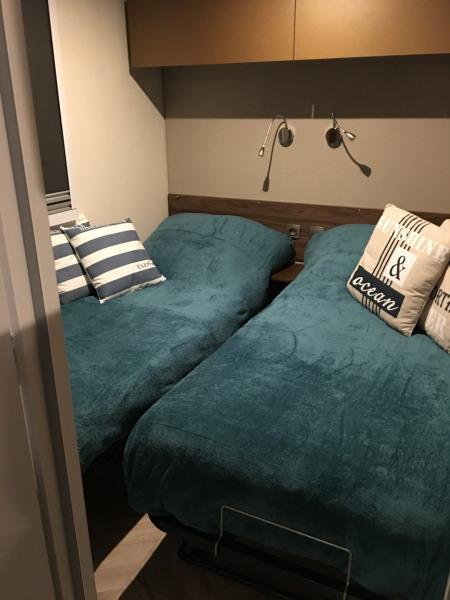 premiere chambre deux lits mobilhome loire atlantique