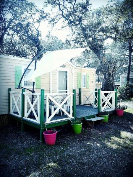 Mobil Home pour 4 pers. avec piscine, Puget-sur-Argens