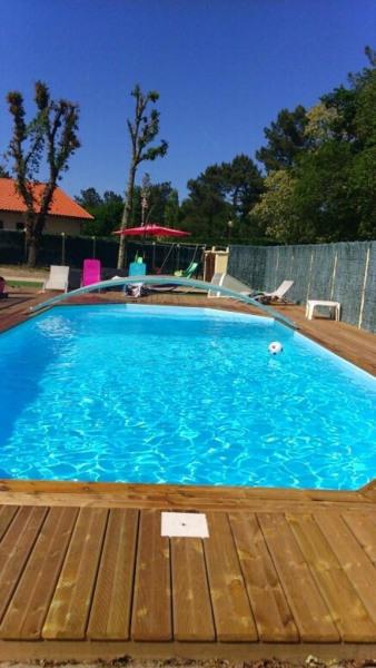 pour 8 pers. avec piscine privée, Escource
