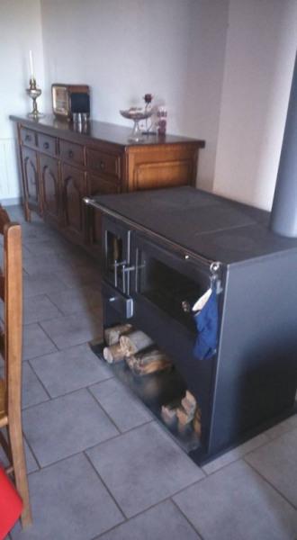 La cuisinière à bois