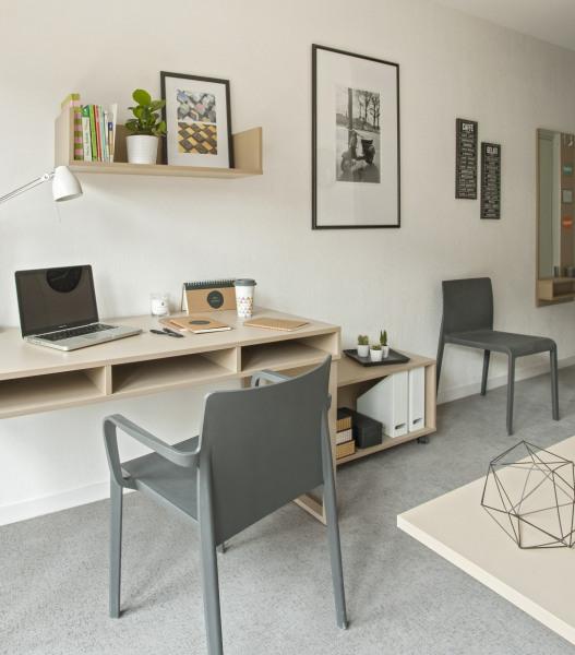 Studio étudiant meublé/équipé proche centre/métro - Lyon 7ème (69007)-2