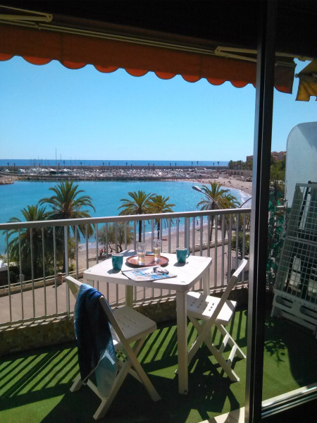 Location vacances Menton -  Appartement - 3 personnes - Chaise longue - Photo N° 1