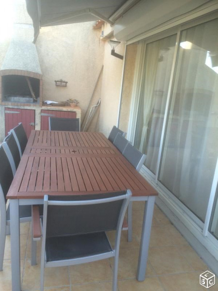 Terrasse, barbecue