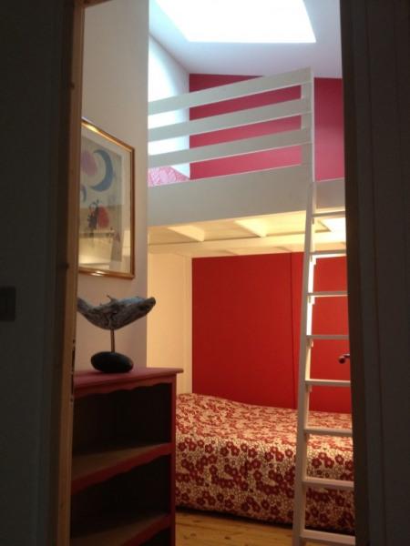 Chambre 2 lits double de 140  dont 1 en mezzanine