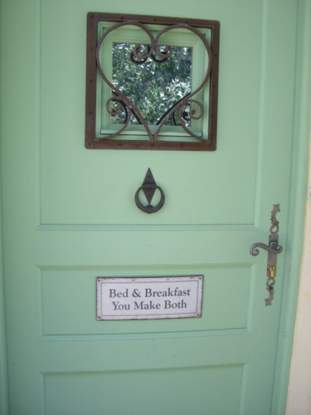 Bed & Breakfast, you make them both