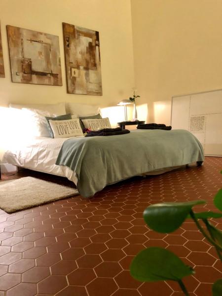 Grande chambre calme avec lit 1,60m/2m ou 2 lits de 0,80m/2m