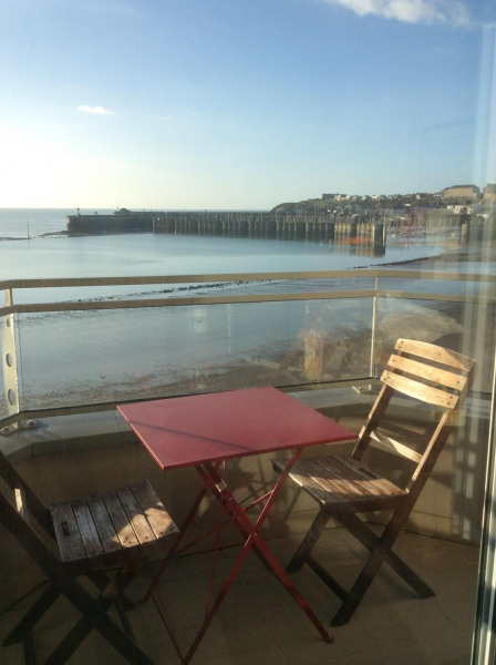 Holiday rentals Granville - Apartment - 2 persons - Television - Photo N° 1