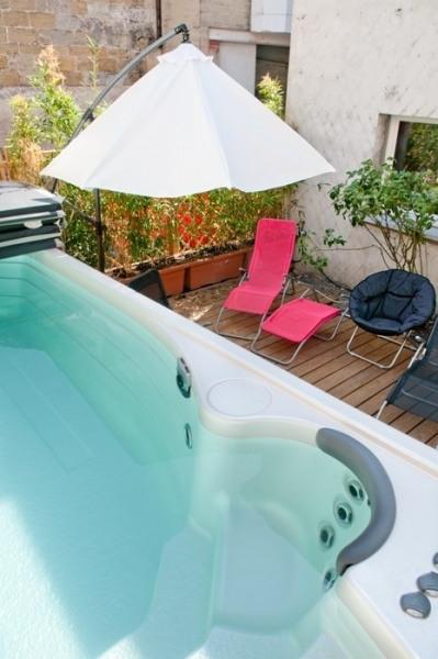 Spa de nage/Jacuzzi sur la terrasse d'El Patio