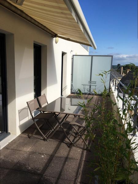 Location vacances Perros-Guirec -  Appartement - 5 personnes - Télévision - Photo N° 1