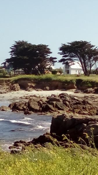 la villa vue de la baie
