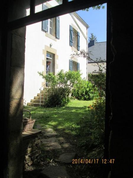 la façade vers jardin