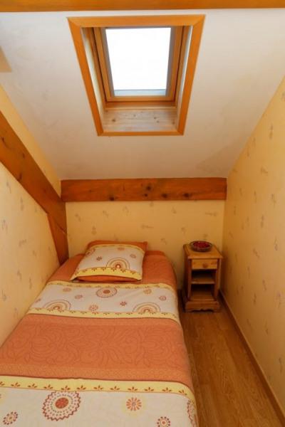La cabine avec son lit une place