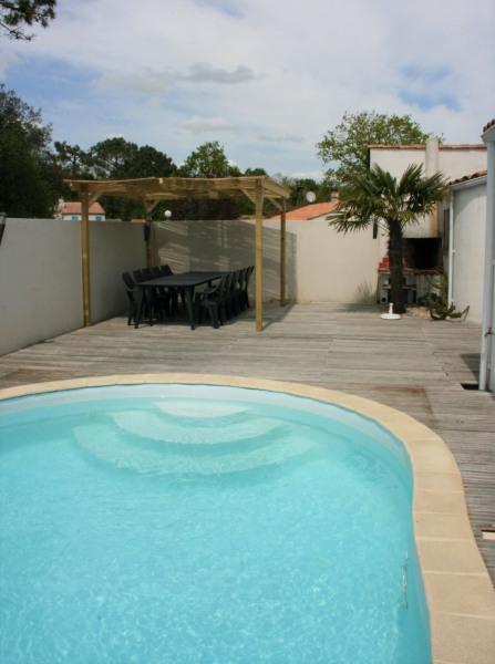 Alquileres de vacaciones Saint-Vincent-sur-Jard - Casa - 10 personas - BBQ - Foto N° 1