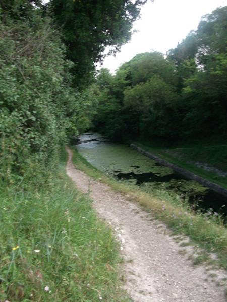ballade sur le bord du canal