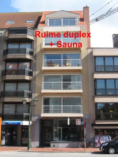 RUIME DUPLEX CENTRUM KNOKKE