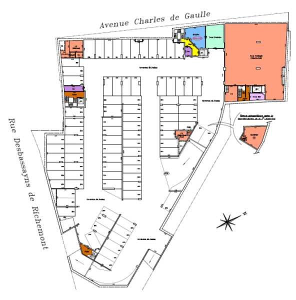 location bureau suresnes hauts de seine 92 3459 m r f rence n 134787. Black Bedroom Furniture Sets. Home Design Ideas