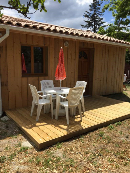 Terrasse privative, 10 m²
