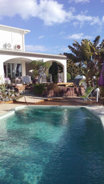 Villa pour 6 pers. avec piscine, Saint-Paul