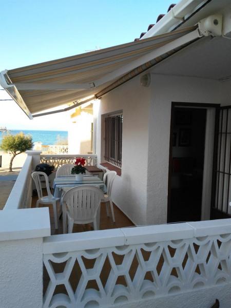 Vue terrasse /mer/plage