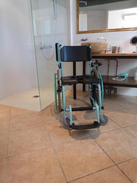 fauteuil pour la douche