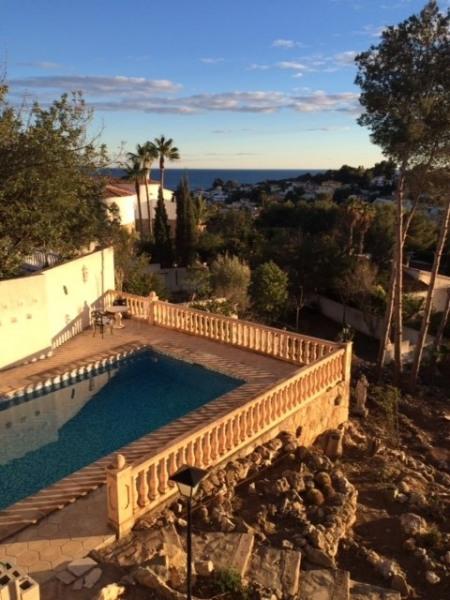 Villa 5 chambres, piscine, vue mer, Costa del Sol