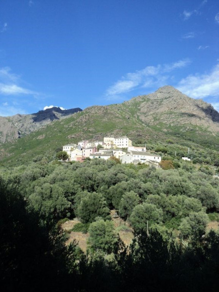 Appartement dans maison de caractère à Ogliastro à 1,5km de la mer