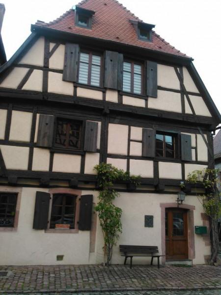Maison à colombages du 17ème Siècle au centre de Bergheim