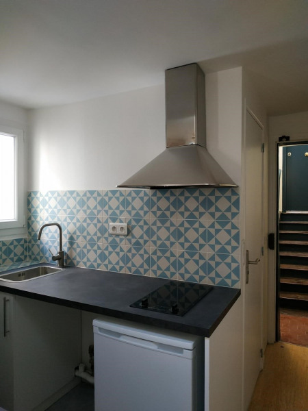 Studio avez mezzanine - Paris 3ème (75003)-4